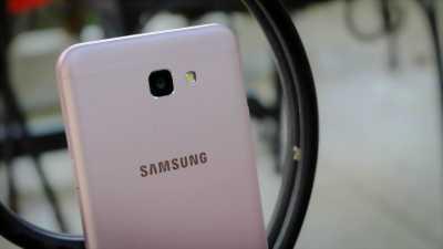 Điện thoại Samsung note 5 chảy mực màn hình ở Nam Định