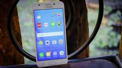 Samsung Galaxy J5 prime vàng hồng