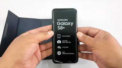 Bán Samsung S8 Plus Đen Mới 100% Quốc Tế 2 Sim