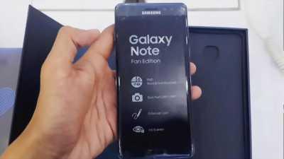 Samsung Note Fan Edition Đen - còn bảo hành tại Huế