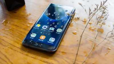 Samsung s7 edge xanh 2 sim 99% bao nước