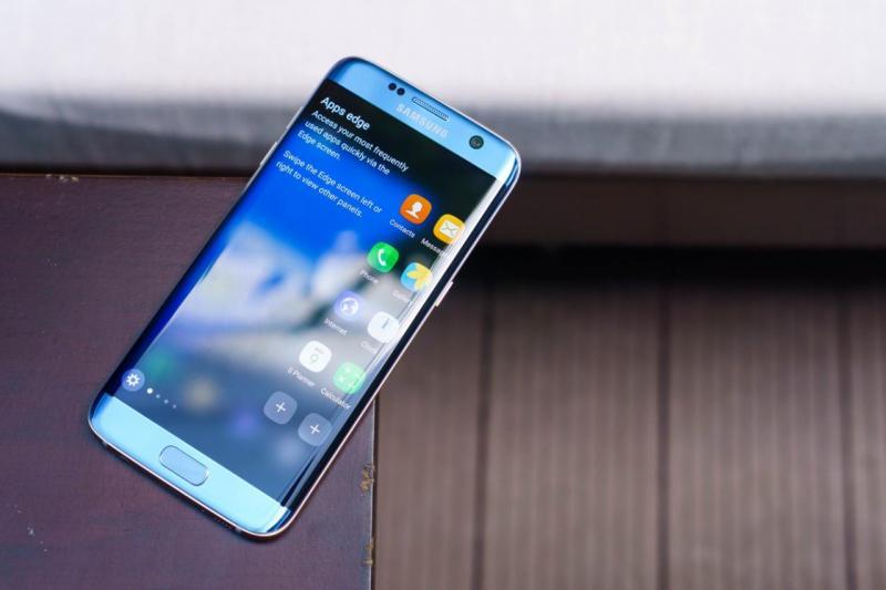 Samsung S7 Edge Xanh Coral Hàn Quốc Zin nguyên