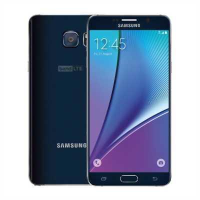 Galaxy note 5 xanh đen còn mới 99%