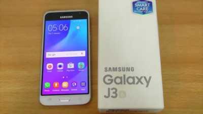 Samsung Galaxy J3 Bạc.rin 100%. Miễn trả giá tại Trà Cú