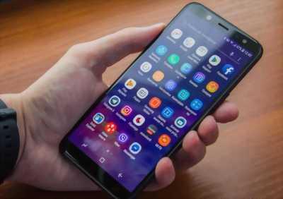 Samsung A6 2018 như mới bảo hành dài huyện trần văn thời