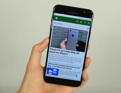 Samsung Galaxy J7+ đen huyện trần văn thời