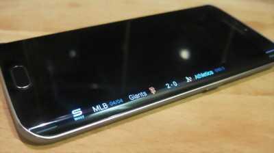 Samsung s6 edge zin mới 98℅ nứt kính nhé