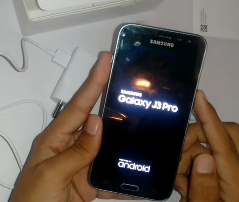 Samsung Galaxy J3 Pro 16GB đen huyện vĩnh bảo