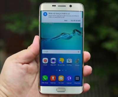 Samsung Galaxy S6 Edge 64 GB vàng zin nguyên cây huyện xuân lộc