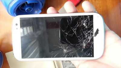 Samsung s5... zin nứt kính...