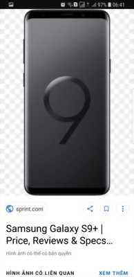 Cần bán một samsung s9 plus 64g
