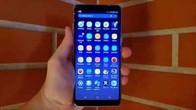 Samsung A8+ 2018 hàng FPT mới sử dụng được 2 tháng quận 4