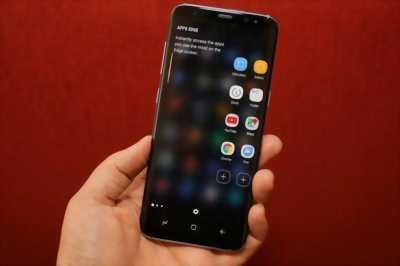 Samsung Galaxy S8+ Hàn xám 64 GB bay nhanh hay gl
