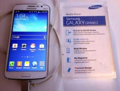 """Bán Samsung grand 2 , ram 1.5gb, màn hình 5.2 """" giá rẻ"""