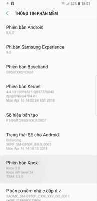 Galaxy s8 full box bảo hành 11/2018