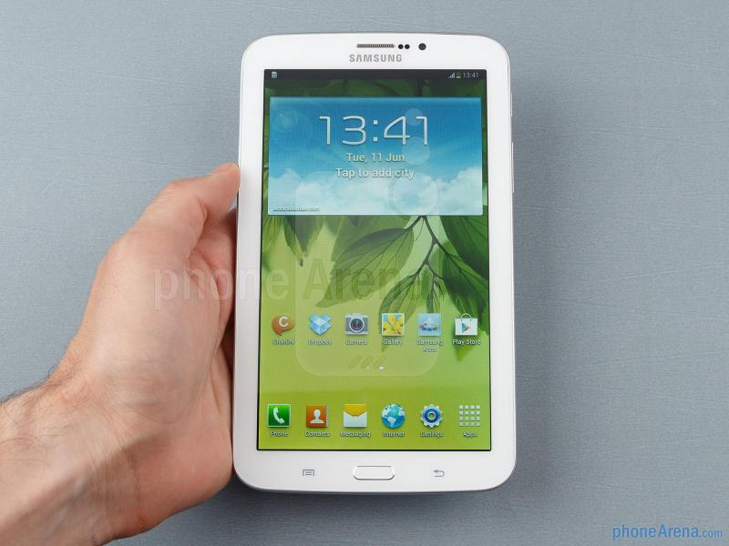 Samsung Galaxy Tab 3 treo logo