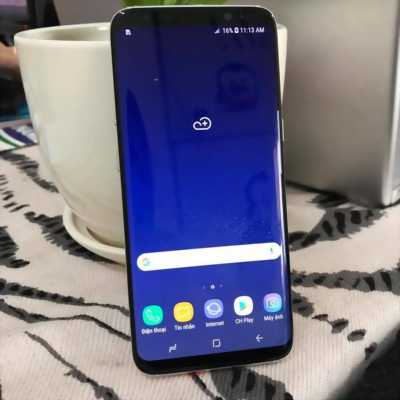 Samsung S8 64G tặng thùng Sá Xị
