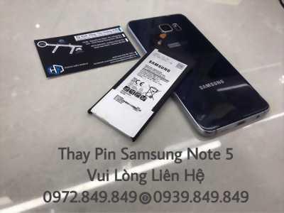 Thay Pin zin cho Samsung Note 5 SỐ 1 VŨNG TÀU