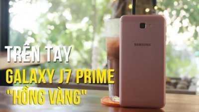 Samsung Galaxy J7 Pro Vàng hồng