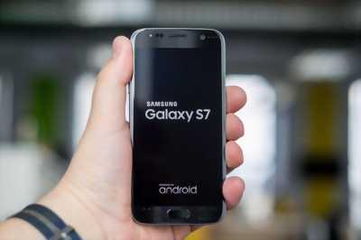 Samsung Galaxy S7 32 GB đen bóng - jet black