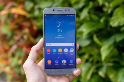 Samsung Galaxy J7 Pro xanh dương đẹp ken