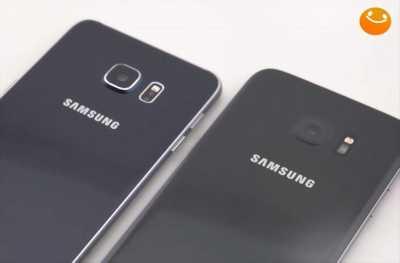 Samsung S6 Edge Plus, tróc sơn nhẹ.