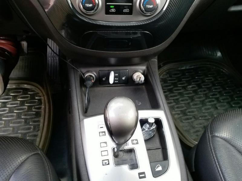 Gia đình cần bán Santafe 2012, số tự động, máy xăng màu đen