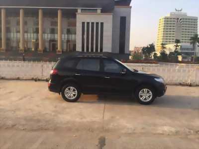 bán xe Hyundai Santafe 2011 số tự động máy dầu,màu đen