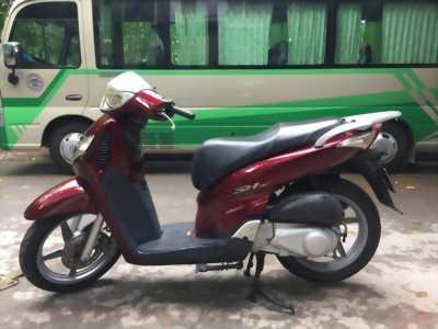 Honda SH 125 màu đỏ mận 95%