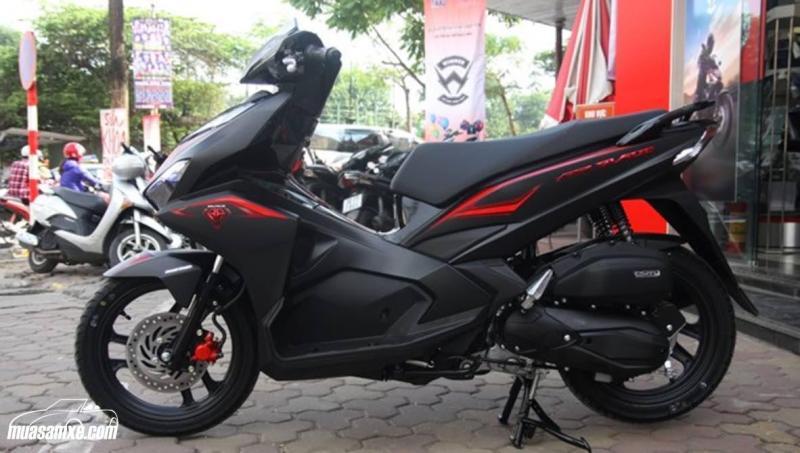Bán xe Honda air blade Nhật 125cc, màu đỏ đen, đời 2017
