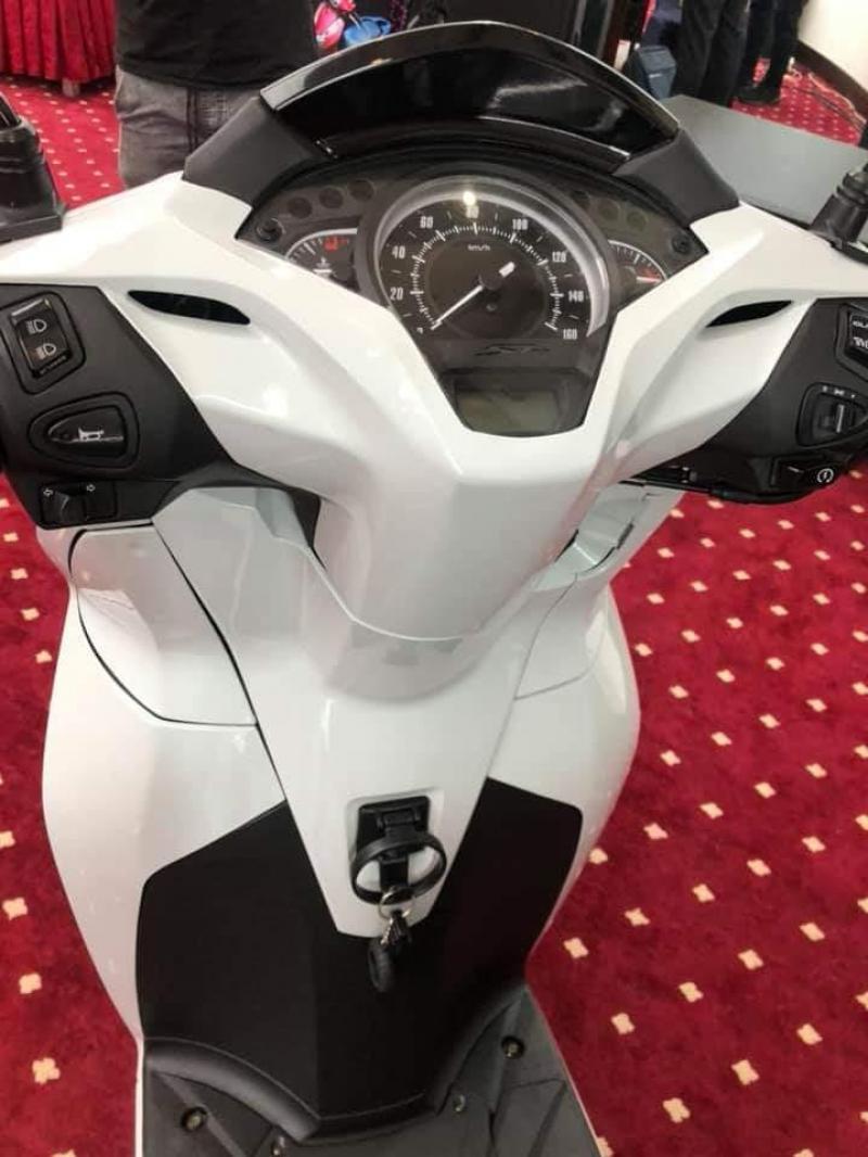 Honda Sh300i Nhập Khẩu INDONESIA Màu Trắng Trốn Thuế