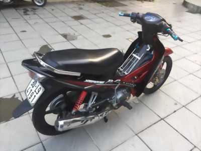 Xe sirius vành đúc đĩa màu đỏ đen tại Thanh Khê