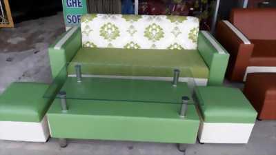 Sofa phòng khách gồm 4 món y hình chỉ 3.3 triệu, hàng mới SX