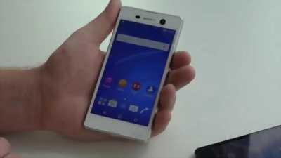 Sony xperia M5 trắng, ram 3g 32g , 98% huyện phú giáo