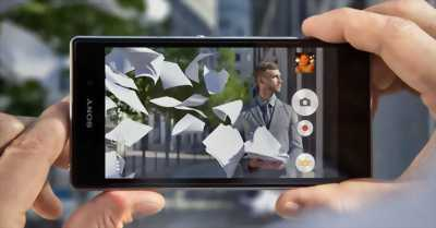 Sony Xperia Z unltra Đen 16 GB ở Long An