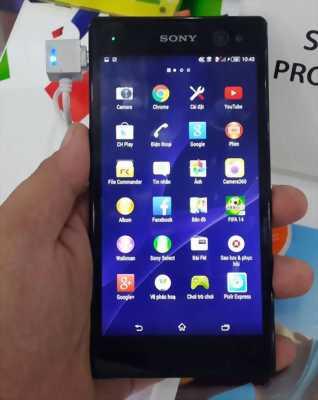 Bán điện thoại Sony c3 mới ken