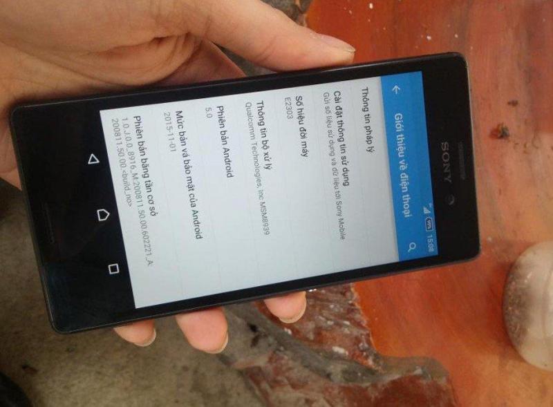 Sony Xperia M4 đen 8 GB