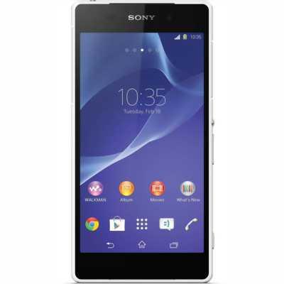 Sony z2 98% đen bóng - jet black sau chân lông