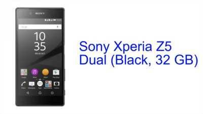 Sony Xperia Z5 Đen 32GB
