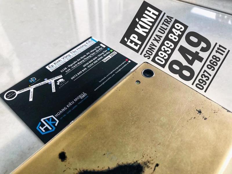 Ép Kính Điện Thoại Sony XA Ultra Uy Tín Bà Rịa-Vũng Tàu