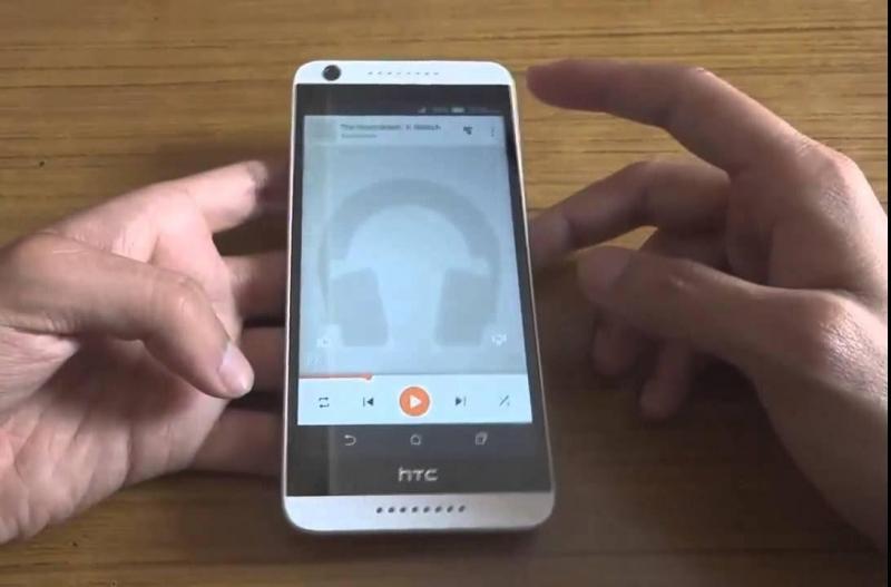 HTC 626 nứt kính, treo logo