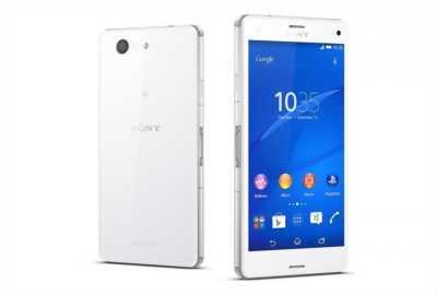 Sony Xperia Z3 compact trắng nứt màn hình.