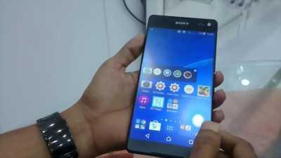 Sony Xperia C5 Ultra đen, màn hình 6.0 in