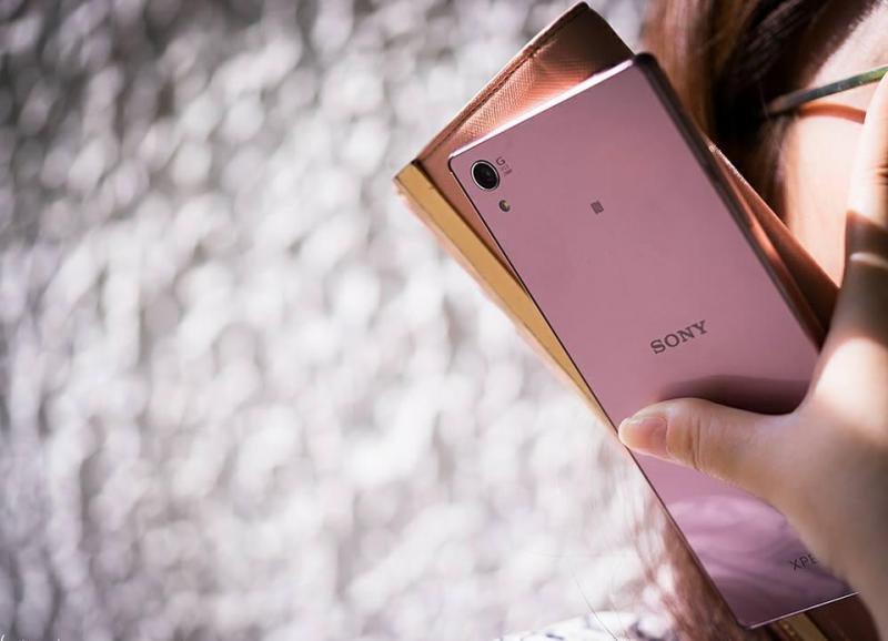 Z5 premium PINK dual Sim chính hãng sony Việt Nam