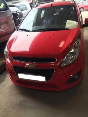 Kẹt tiền bán em Chevrolet Spark 2015 số tự động màu đỏ