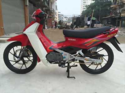 Suzuki RGV Xipo 120 màu đỏ dọn mới leng keng.