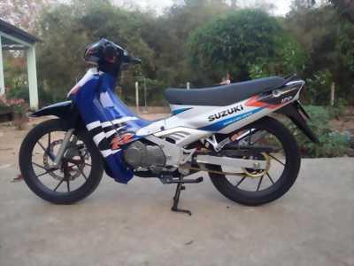 Bán Suzuki Satria xanh - trắng
