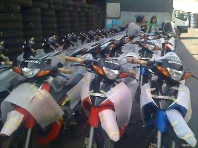 SUZUKI satria 120 R 2000 màu trắng đỏ