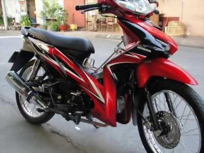 Xe HONDA WAVE RSX màu trắng đỏ đen đời 2010