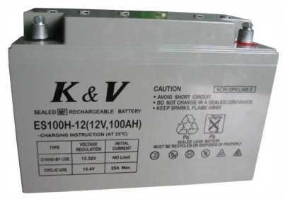 Cần mua một bình ắc quy 12v -60-120ampe (Ah)